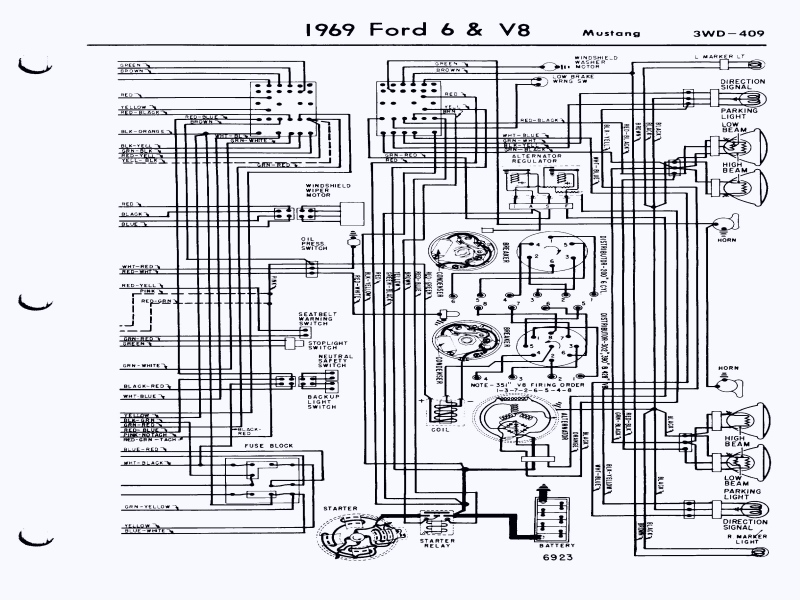 71 Mustang Wiring Diagram Wiring Diagram for A 1971 ford Mustang Mach 1 – Readingrat