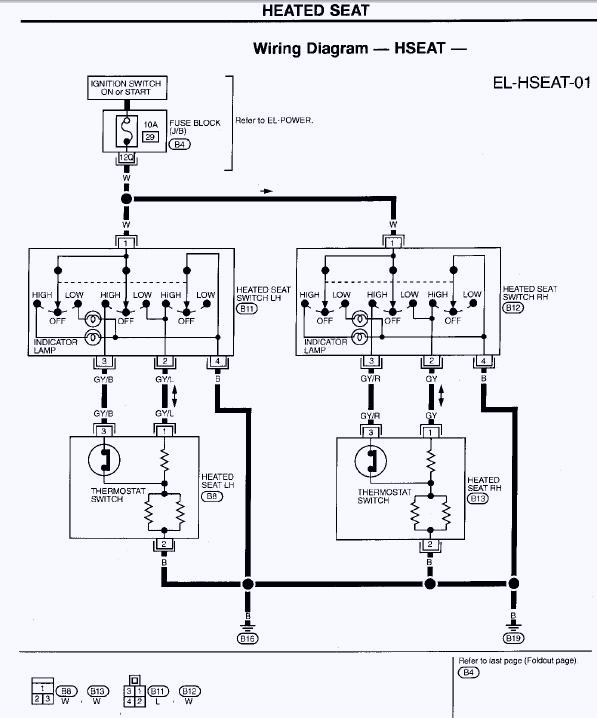 Heated Seat Wiring Diagram Heated Seat Wiring Question Maxima forums